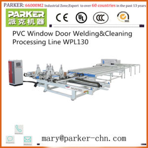 Horizontal Four Corner Welding Machine for UPVC Window Frames pictures & photos