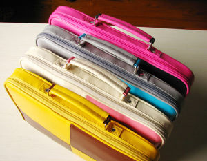 Colorful Popular PU Fashion Function Business 10′′ Laptop Case pictures & photos