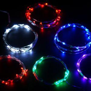 Multi Color LED Fairy Light Strip Battery Bike Christmas Decorative pictures & photos