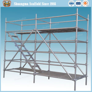 En12810 Standard and SGS Certified Steel Ringlock Scaffolding pictures & photos