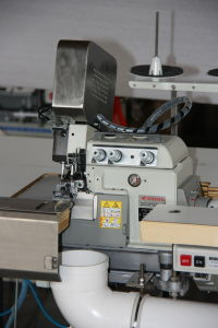 Overlock Sewing & Flanging Mattess Machine (Pegasus) pictures & photos