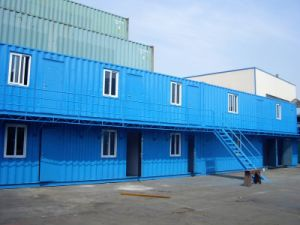 Prefabricated Light Steel Portable Houses, 20FT Container House/Knock Down System pictures & photos