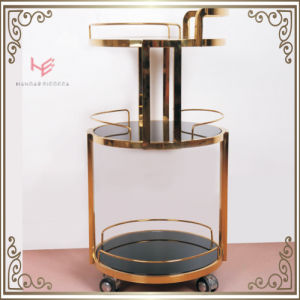 Trolley (RS150502) Liquor Cart Trolley Stainless Steel Furniture pictures & photos