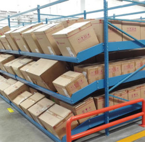 Warehouse Fifo Box Flow Rack pictures & photos
