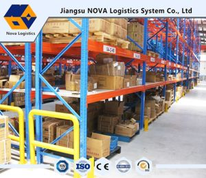 Heavy Duty Racks with Blue Frame and Orange Beam pictures & photos