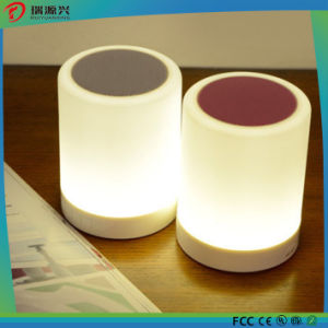 Popular portable bluetooth speaker with touch sensor lamp