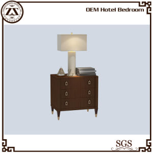 Wooden Veneer Hotel Bedside Cabinet pictures & photos
