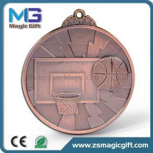 Hot Sales Old Bronze Athletics Metal Medal pictures & photos