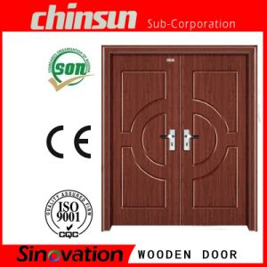 Double Wooden Door with Cheap Price pictures & photos