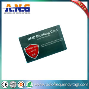 Programming Custom Printing RFID Blocker Card pictures & photos