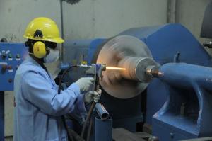 Hvof Coating Equipment with Spraying Torch Gun Calendar Rolls Repair Surface Treatment pictures & photos