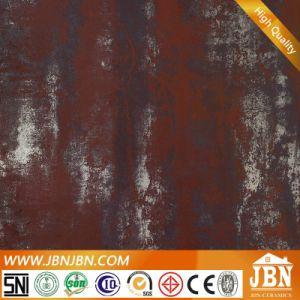 Rustic Shinning Metallic Glazed Tile Dark Red Matte Surface Ceramic Floor Tile 600X600mm (JL6503) pictures & photos