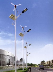 100W Solar and Wind Hybrid Solar Street Lights, Outdoor LED Light pictures & photos