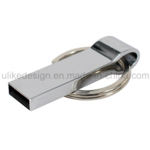 Sliver Metal USB Flash Drive (UL-M044) pictures & photos
