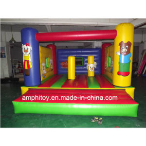 Inflatable Pig Air Trampoline/Inflatable Air Jumpers for Sale