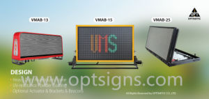 Digital Billboard Advertisement Truck Can Bus Folding Car LED Display Screen pictures & photos
