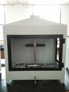 Single-Flame Source Test (Ignitability Apparatus) by En ISO 11925-2 pictures & photos