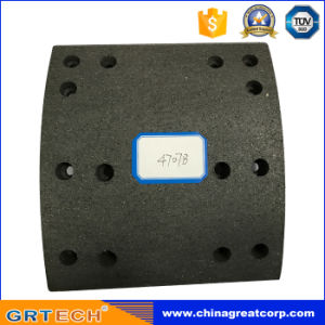 4707 Friction Material Truck Brake Lining with Hole pictures & photos