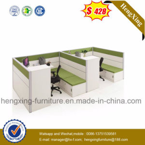Modern Office Furniture 4 Seater Office Partition Workstation (HX-4PT019) pictures & photos