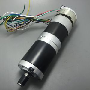 China 57mm brushless dc gearmotors with electric brake for Bldc motor with encoder