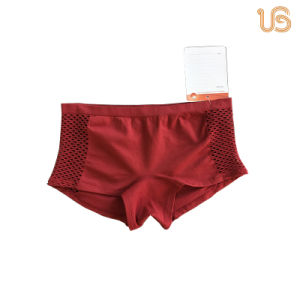 Hot Sale Women Seamless Boxer Panty pictures & photos