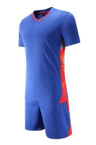 Blue Dry Fit Soccer Jerseys pictures & photos