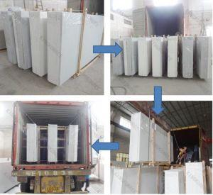 Pure White Artificial Marble Quartz Stone pictures & photos