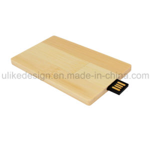 Wood Card USB Flash Promotion Gift (UL-W022-4) pictures & photos