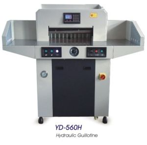 Hydraulic Paper Guillotine (560mm) pictures & photos