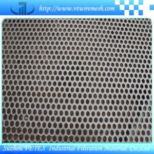 Noise Reduction Stainless Steel Punching Hole Mesh Sheet pictures & photos
