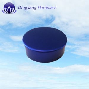Wholesale Sea Blue Frosted Aluminum Round Jar Caps pictures & photos