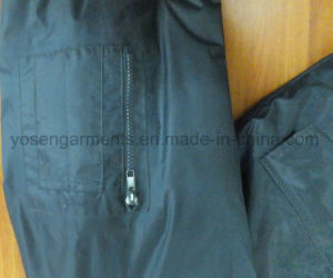 Men′s Outdoor Industrial Winter Waterproof Polyester Woven Pilot Jacket (IC31) pictures & photos