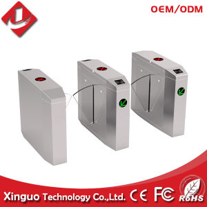 Access Control System Flap Barriers, RFID Flap Barrier Gate for Fitness Club pictures & photos