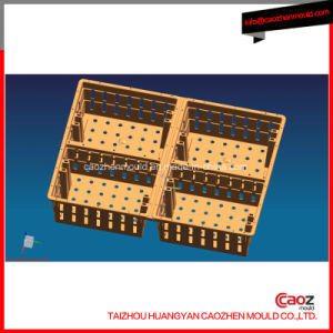 Professional Manufacture of Plastic Injection Transportation Crate Mould pictures & photos