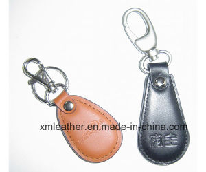 Business Gift Leather Key Chain Key Ring Holder for Men pictures & photos
