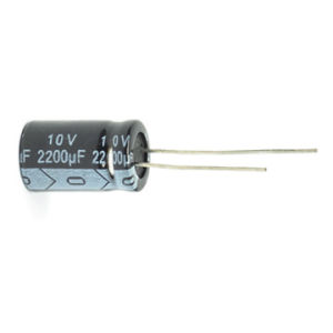 100UF 35V Radial Electrolytic Capacitor 105c Tmce02-6 pictures & photos