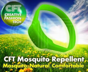 The Cft for 5 Hole (green) Silicon Mosquito Repellent Band pictures & photos