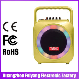 6.5 Inch Multi Color Portable Mini Bluetooth Speaker with Handle F105 pictures & photos