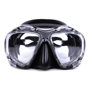 Tempered Glass Lens Low Volume 4 Window Dive Mask pictures & photos