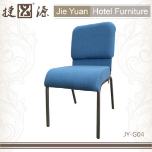 Stackable Metal Hotel Fu Rniture Church Chair (JY-G04) pictures & photos