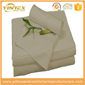 Wholesale 300tc Bamboo Bed Sheets Set pictures & photos