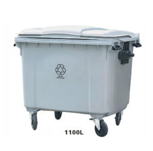 Wholesael for Recycle Plastic Dust Bin Without Pedal pictures & photos