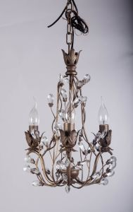 Vintage Orb Finishing Traditional Floral Shape Crystal Chandelier pictures & photos