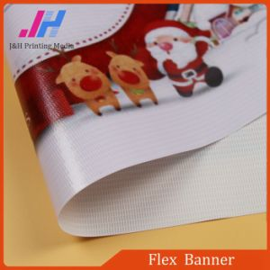 PVC Frontlit Glossy Flex Banner Rolls pictures & photos