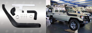 4X4 off-Road Car Snorkel for Toyota 78 Series Narrow Front Land Cruiser pictures & photos
