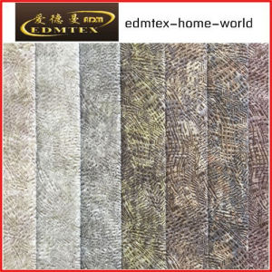 100% Polyester Wholesale Burnout Velvet Upholstery Fabric (EDM-TC90) pictures & photos