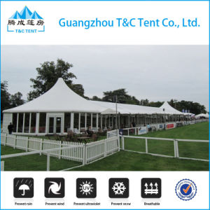 Factory Multi-Side Ends 2 High Peaks Marquee Tent for Wedding pictures & photos