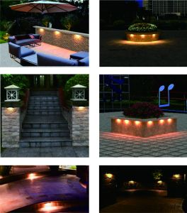 FCC/ETL Certifed Waterproof LED Hardscape Light pictures & photos