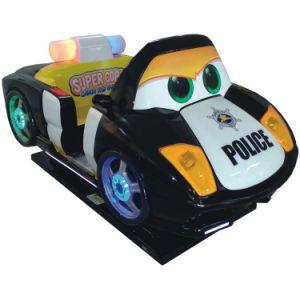 ISO9001 Factory Children Amusement Police Car Kids Ride for Children Entertainment (K166-BK) pictures & photos