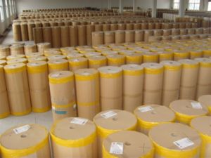 Paper Masking Tape for Automotive Painting Application in Lemon Yellow with Quality Free Sample pictures & photos